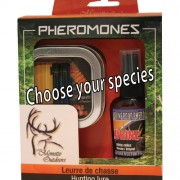 Kit of 2 vials Pheromones Elk with 60ml scent (choose your species)