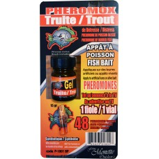POISSON,Kit Gel Saumon+1 Fiole Phéromone 15gr